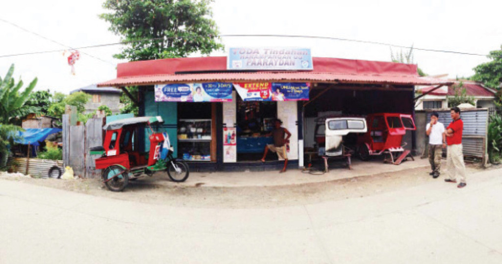 "This""Tindahan ng Toda,"" made possible thru Senator Alan Peter Cayetano's PTK (Presyo, Trabaho, Kita/Kaayusan) program, started with the seed capital received last year by the Tacloban Federation of Motor Cab for Hire Drivers and Operators, Inc. (TAFEMDO)."