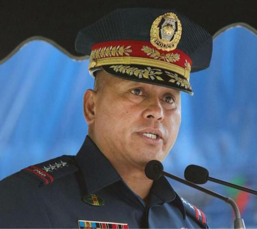PNP Director General Ronald 'Bato' de la Rosa
