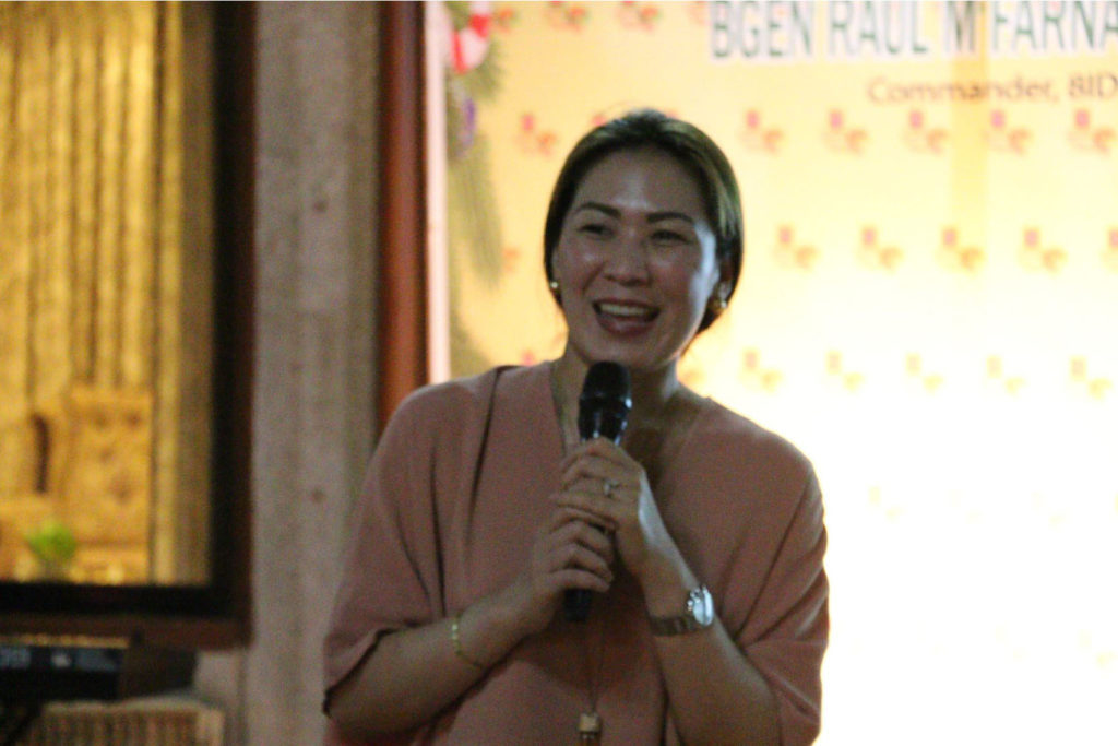 Samar Governor Sharee Ann Tan, who is enrolled at the Zuellig Foundation, identifies improving the health condition of the people of Samar as among her priorities. (PHOTO COURTESY)