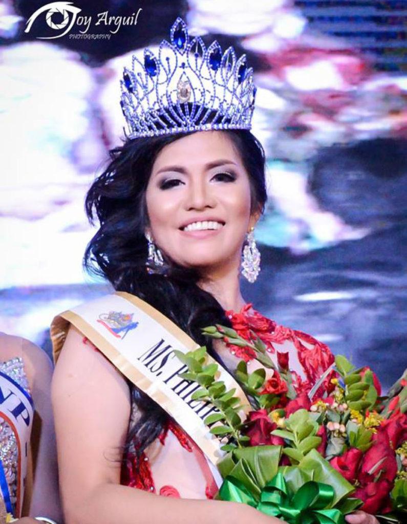 Miss PNP 2017 Arla Ray Obedencia Paciencia.  (photo courtesy)