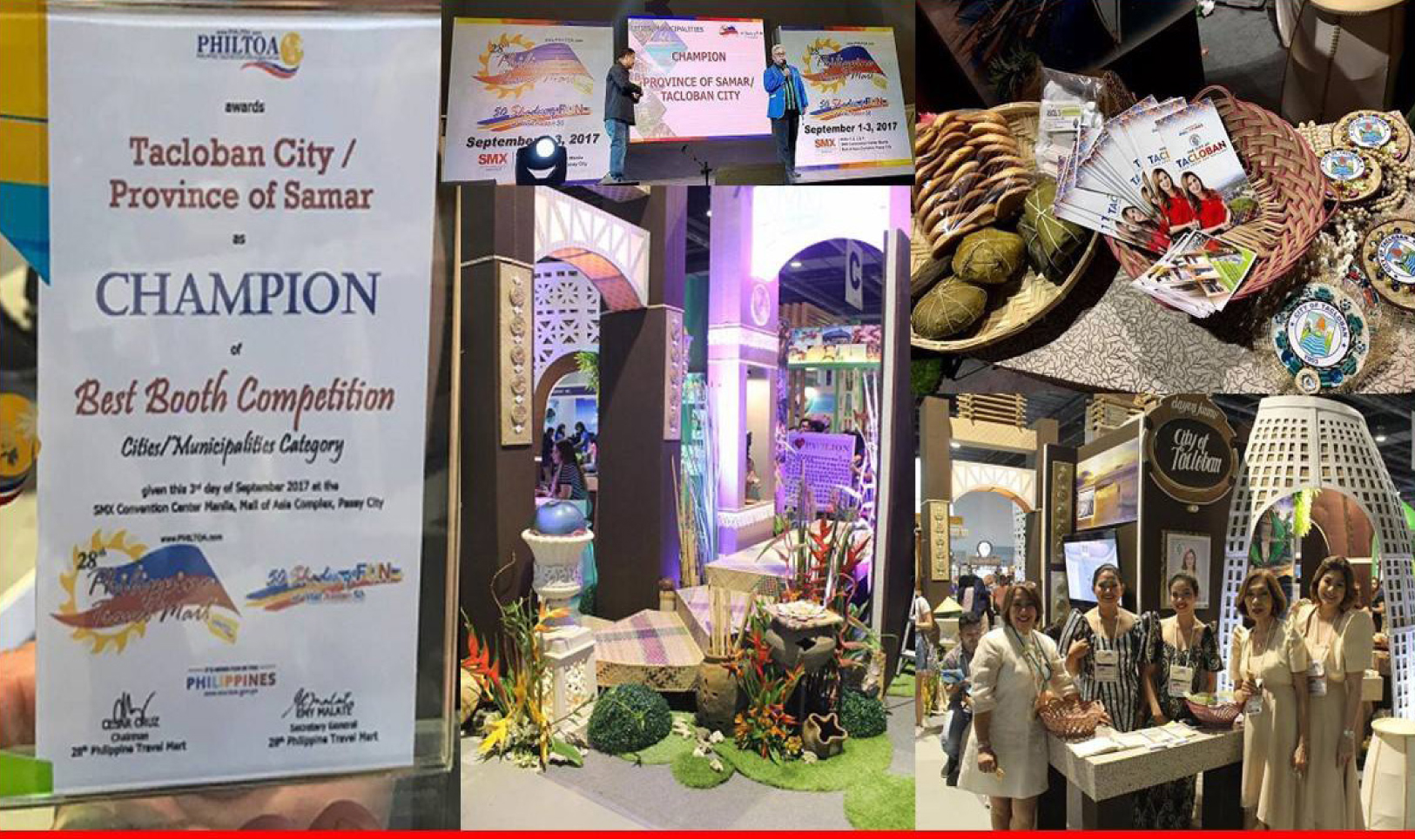 Mayor Romualdez extends congratulations to tourism office